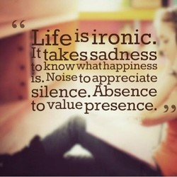 Ife is ironic. 