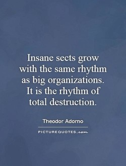 Insane sects grow 