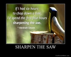 If I had six hours 