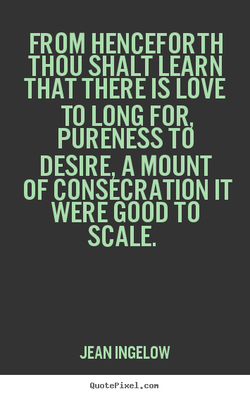 FROM HENCEFORTH 