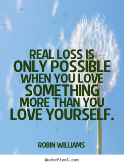 REAL LOSS IS, 