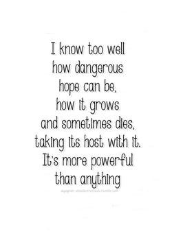 I know too well 
