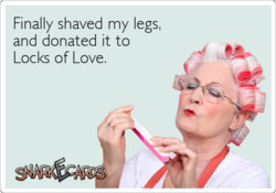 Finally shaved my legs, 