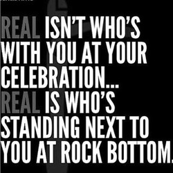 REAL ISN'T WHO'S 
