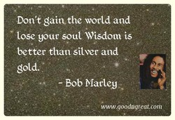 Dont gaitvthe world and 