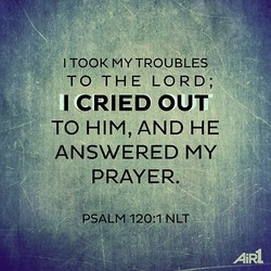 I TOOK MY TROUBLES 