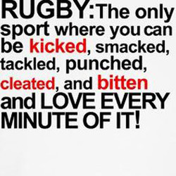 RUGBY: The only 