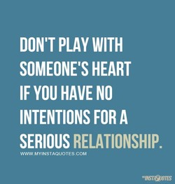 DON'T PLAY WITH 