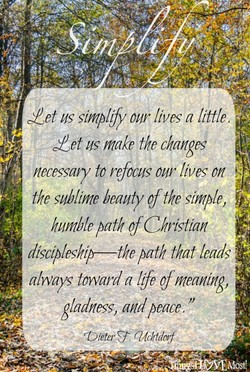 Zet us simplify our lives a little. 