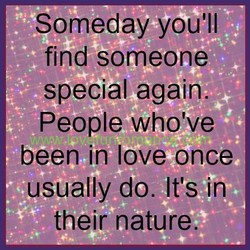 Someday you'll 