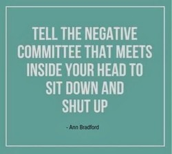 TELL THE NEGATIVE 