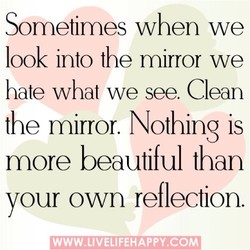 Sometimes when we 