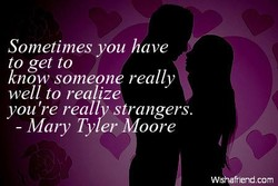 Sometimes you have 