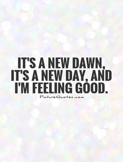 IT'S A NEW DAWN, 