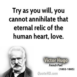 Try as you will, you 
