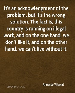 It's an acknowledgment of the 