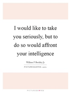 I would like to take 