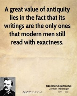 A great value of antiquity 