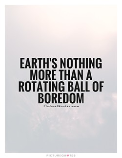 EARTH'S NOTHING 