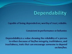 Dependability 