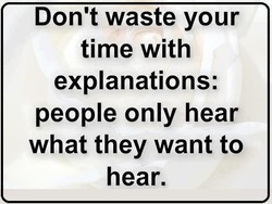 Don't waste your 