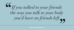 If you talked to your friends 