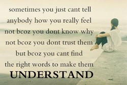 sometimes you just cant tell 