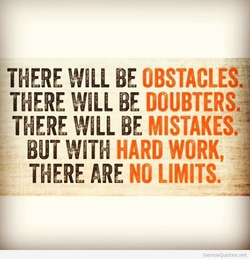 THERE WILL BE OBSTACLES: 