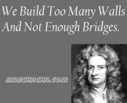 we Build Too Many walls 
