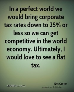 In a perfect world we 