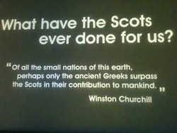 What have the Scots 