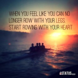 WHEN YOU FEEL LIKE YOU CAN NO 