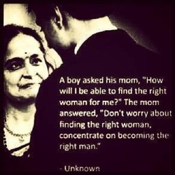 A boy asked his mom,