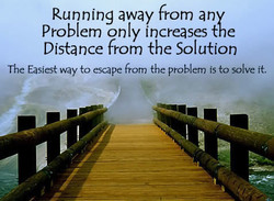 Running away from any 
