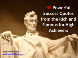 Prof. Larry M.aynch 
