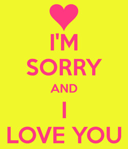 SORRY 