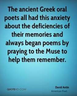 The ancient Greek oral 