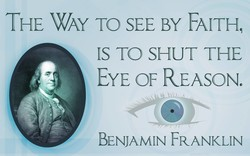 THE WAY TO SEE BY FAITH, 