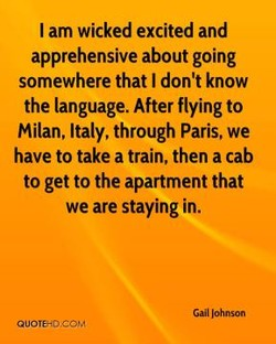 I am wicked excited and 