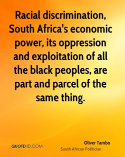 Racial discrimination, 