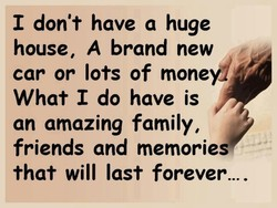 I don't have a huge 