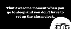 That awesome moment when you 