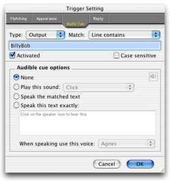 Trigger Setting 