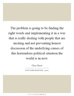 The problem is going to be finding the 