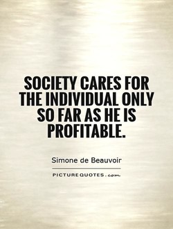SOCIETY CARES FOR 