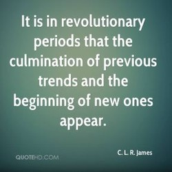 It is in revolutionary 