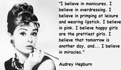 111 believe in manicures. I 