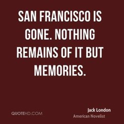 SAN FRANCISCO IS 