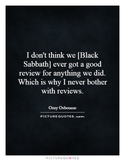 I don't think we LBlack 