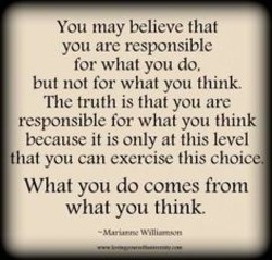 You may believe that 